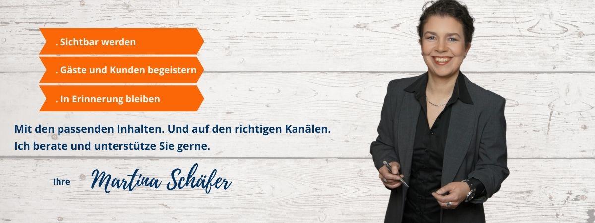 Titelbild der Website von Martina Schäfer Content-Marketing für Hotellerie und Gastronomie, Reisen, Genuss und Lifestyle